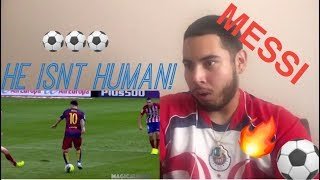 LIONEL MESSI - THE WORLDS GREATEST | REACTION !!| (INSANE)