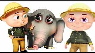 Zool Babies Forest Rangers Episode | Elephant Rescue | Funny Cartoon Animation For Children