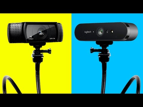 The TWO BEST Webcams For YouTube Twitch & Streaming 1080p & 4K Logitech C920 & Logitech Brio