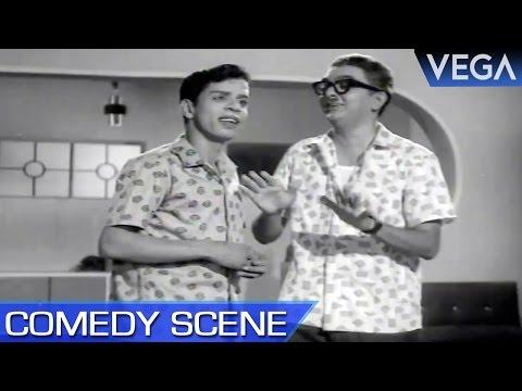 Cho Teaches Nagesh How To Romance || Ninaivil Nindraval Movie || Comedy Scene