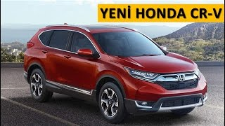 Honda CRV 2017 ilk tanıtım - haber videosu