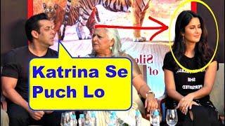 Salman Khan Reaction On Wedding With Katrina Kaif