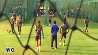 IPL 9 KKR vs SRH: Knight Riders Practice Session in Nets