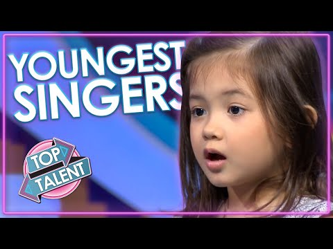 Are These The YOUNGEST Singing Auditions Ever On Got Talent And Idol Top Talent