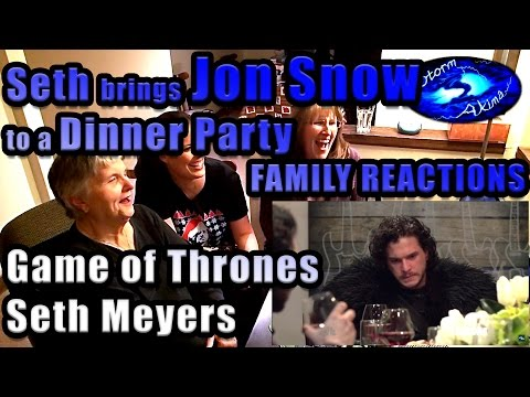 Seth brings Jon Snow to a Dinner Party FAMILY REACTIONS