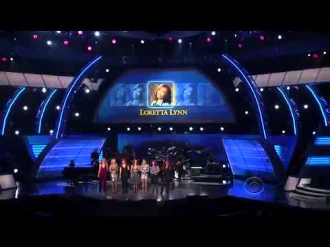 Lorerrta Lynn Tribute Coal Miners Daughter ACM Girls Night Out HD 360p .mp4