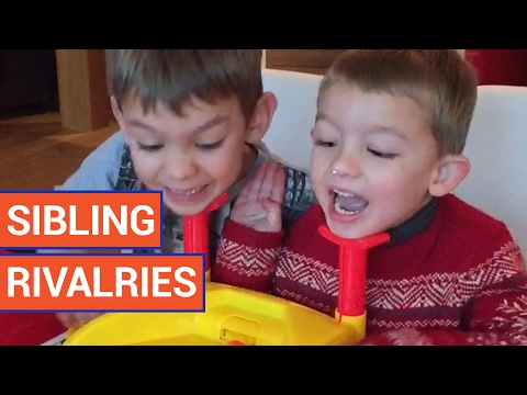 Funny Sibling Rivalries Kid Video Compilation 2017