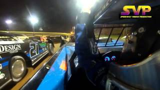 In Car Camera / Super Late Models / Robby Moses #21/ April 2 , 2016