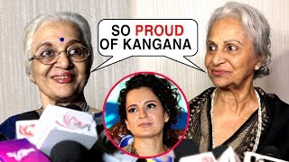 Manikarnika REVIEW | Waheeda Rehman, Asha Parekh Praise Kangana Ranaut