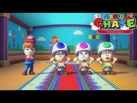 Nintendo Land Co op Mario Chase GamePad