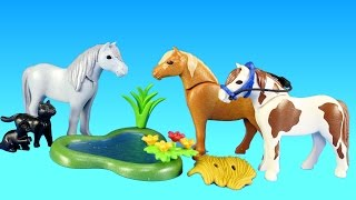 Playmobil Country Pony Farm Animals Building Set Toy Build Review