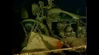Jacques Cousteau  find the Thistlegorm in 1955