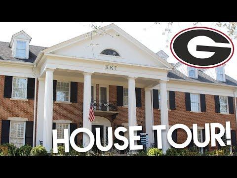 SORORITY HOUSE TOUR Kappa Kappa Gamma at the University of Georgia Lottie Smalley