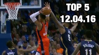 Top 5 Plays of the Night: 12.04.16