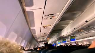 avion decollage, cabine, turbulence, atterissage