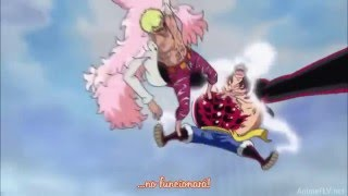 [ AMV ] Luffy Gear 4th vs Doflamingo - Hunting High and Low