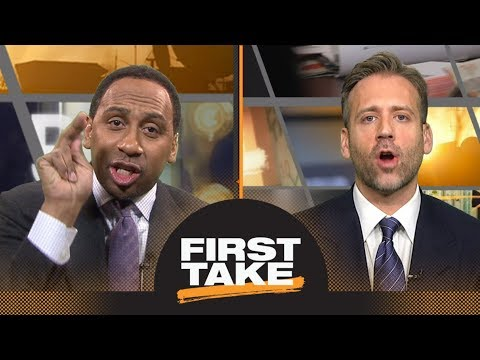 Stephen A. and Max fiercely debate Dwyane Wade s NBA legacy First Take ESPN