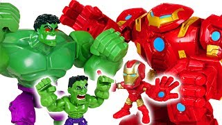 Robocar Poli friends are in danger because Hulk is crazy! Go! Iron Man