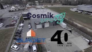 COSMIK JUMP fête les 40ans de BURDET