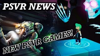 PSVR NEWS | New PSVR Games Announced | Free Updates | Release Dates