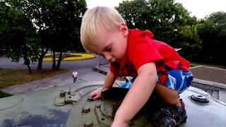 Car toy videos for kids Excavator truck dumb truck cranes boat