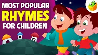 Most Popular Rhymes for Children | 55 Mins Non Stop Compilation