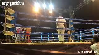 Sangkran Battambang, Heng Veasna vs Roeung Rin, Khmer New Year 14 April 2018