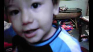 Little Cute Mexican Boy Craving Breast Milk getting Angry at his Mummy