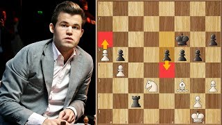 What Comes After a Drawing Streak?   Carlsen vs Mamedyarov   Tata Steel Masters (2019)