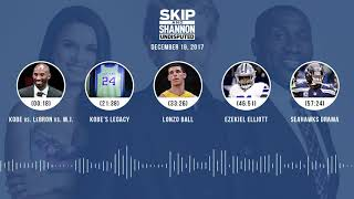 UNDISPUTED Audio Podcast (12.19.17) with Skip Bayless, Shannon Sharpe, Joy Taylor | UNDISPUTED