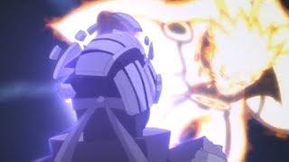 ناروتو يكسر قناع توبي ويكشف عن هويته الحقيقية - ناروتو والكيوبي ضد اوبيتو والجيوبي