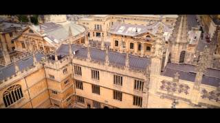 Oxford University aerial drone filming