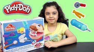ألعاب صلصال طبيب الأسنان مع مايا PlayDoh dentist