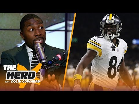 Greg Jennings joins Colin to talk report Antonio Brown requests trade from Steelers NFL THE HERD