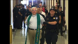 Raw: Religious Leaders Protest Health Care Bill