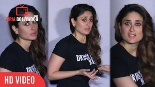 Kareena Kapoor Khan Awkward Reactions At Udta Punjab Trailer Launch