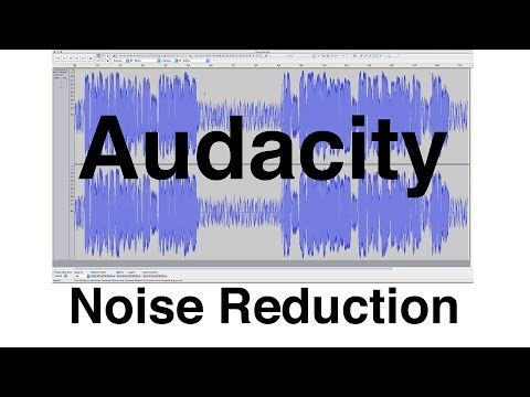 Noise Reduction with Audacity: Quick Sound Tutorial