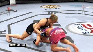 nL Live on Hitbox.tv - Two Controversial FUC Fights! [EA UFC Glitch]