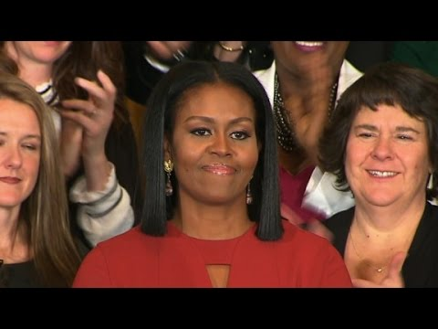 Michelle Obama s entire final speech