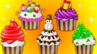 Cup Cake Finger Family | Happy Birthday Song | Nursery Rhymes | Kids Songs