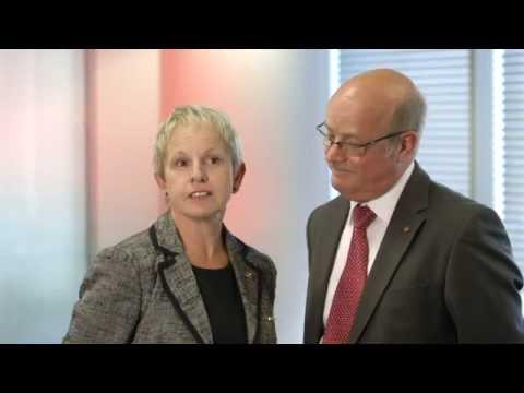 Ian and Barbara Roberts   Merry Maids   bfa HSBC Franchisee of the Year Awards 2012