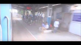 Semi Bullet Train Gatimaan Express Dust Blasts Railway Station in 7 Secs Flat at 160kph !!!
