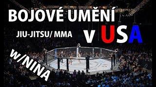 JIU-JITSU & MMA v AMERICE | Trénink s legendami | Jak To Probíhá? - Naše Zkušenost