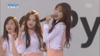 150516 Lovelyz (러블리즈) - Hi~ (안녕) @ Pyeongchang Winter Olympics [1080p]