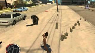 Megaexplosión con carga explosiva en GTA San Andreas