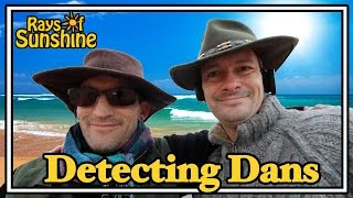 Metal Detecting With A WW2 Tank On The Beach (90 & 91)