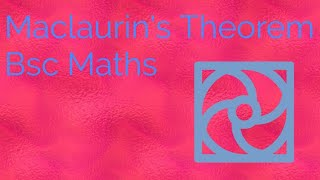 Maclaurin's Theorem |Bsc Maths | Expansion Of Functions | Engineering Maths | IIT-JAM