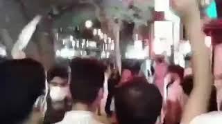 """Iran, Ahvaz, le 1 juillet, """"oui oui révolution"""""""