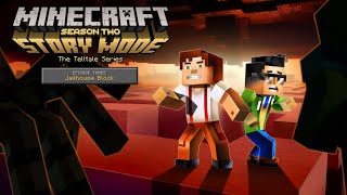Minecraft Story Mode: Season 2 Episode 3 Jailhouse Block - No Commentary