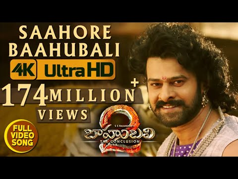 Saahore Baahubali Full Video Song - Baahubali 2 Video Songs | Prabhas, Ramya Krishna
